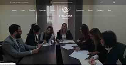 Diseño web en Sevilla para el bufete Peñalosa Abogados